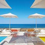 пляж отеля The White Palace Grecotel Luxury Resort