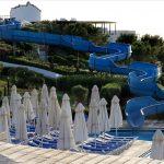 водная горка отеля Aldemar Cretan Village