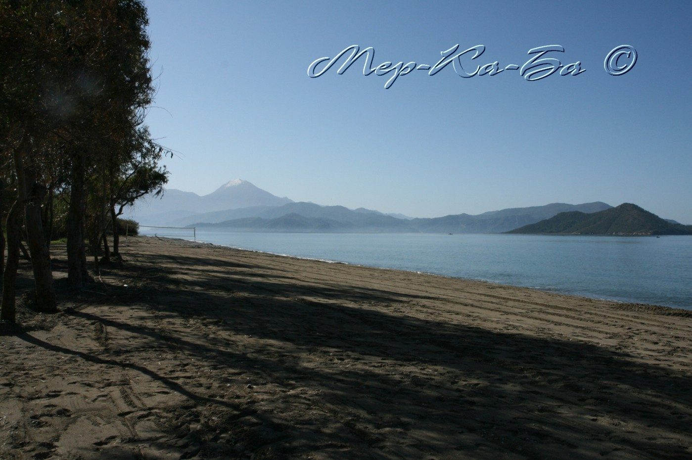 пляж отеля Lykia Botanika