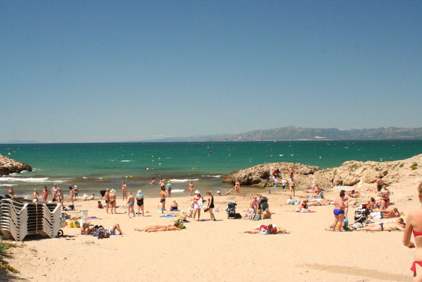 пляж отеля Best Cap Salou