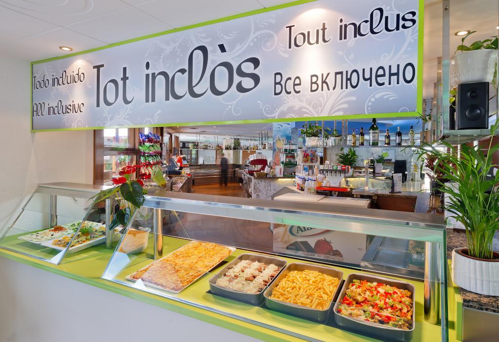 ресторан отеля Oasis Park Lloret
