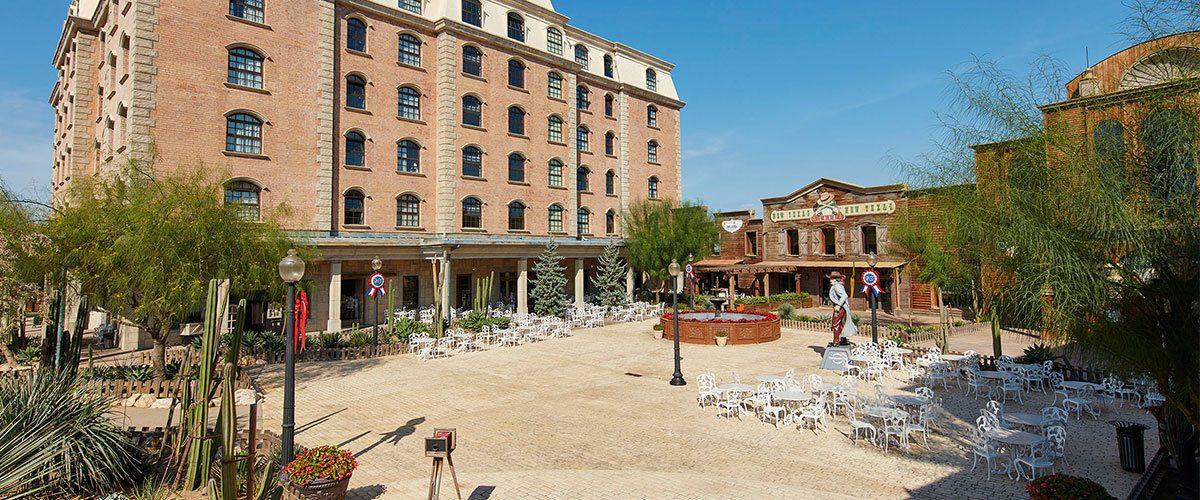 территория отеля PortAventura Hotel Gold River
