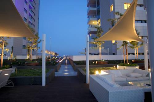 территория отеля Olympic Residence Deluxe Appartaments