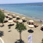 пляж отеля Olympic Residence Deluxe Appartaments