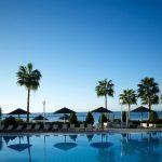 территория отеля Atlantica Miramare Beach