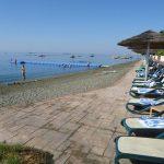 пляж отеля Atlantica Miramare Beach