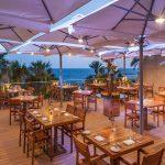 ресторан отеля Amathus Beach Hotel