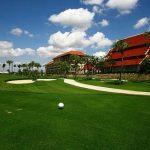 гольф поле отеля Dor-Shada Resort by The Sea