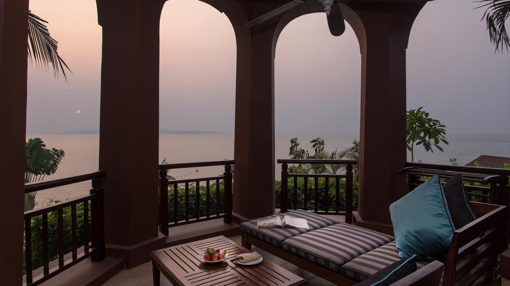терраса отеля Sheraton Pattaya Resort