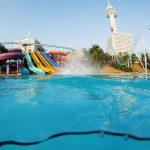 водные горки отеля Hard Rock Hotel Pattaya