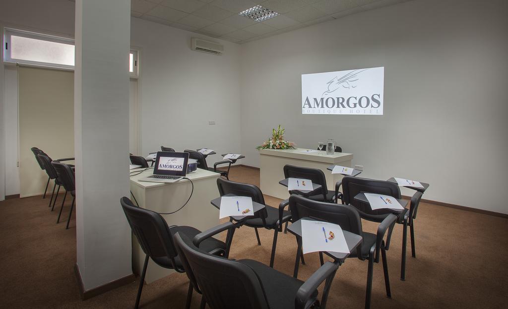 зал для конференций отеля Amorgos Boutique Hotel