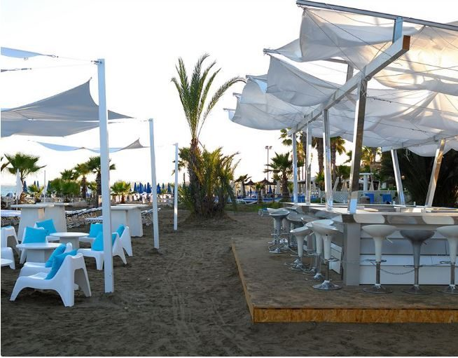 пляж отеля Sentido Sandy Beach Hotel