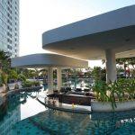 территория отеля Amari Ocean Pattaya