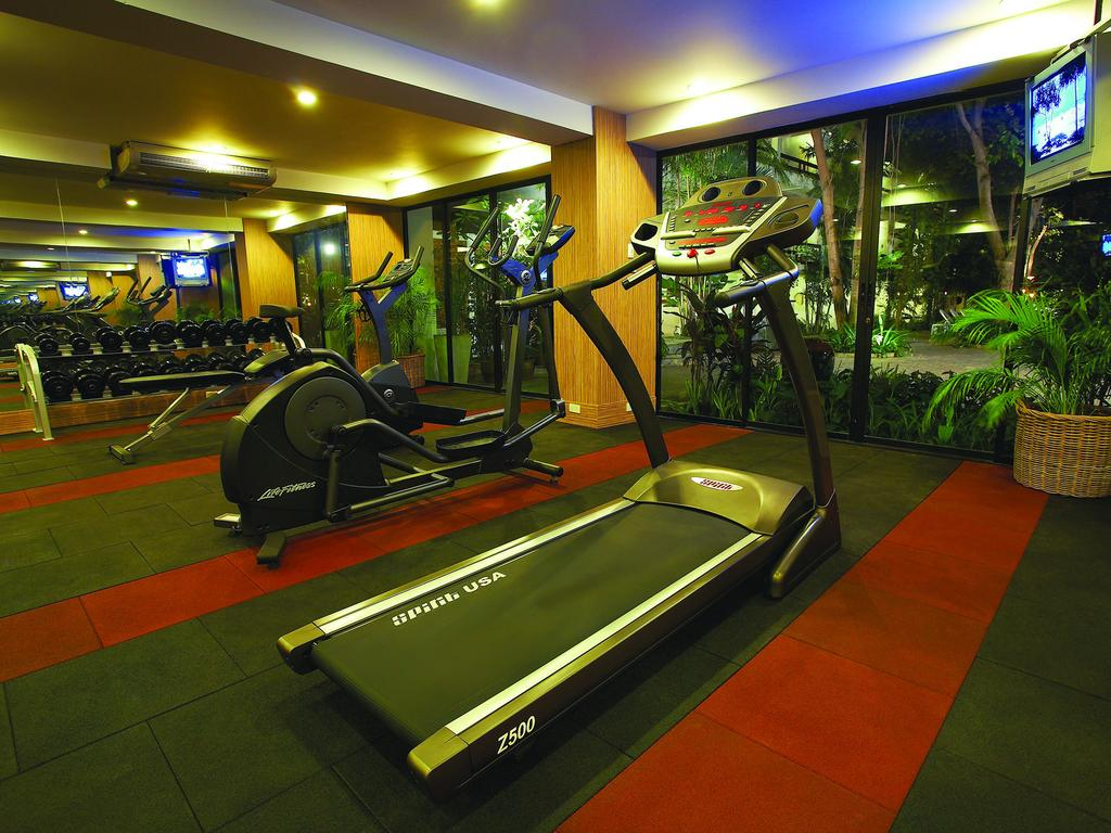 спорт зал отеля Cosy Beach
