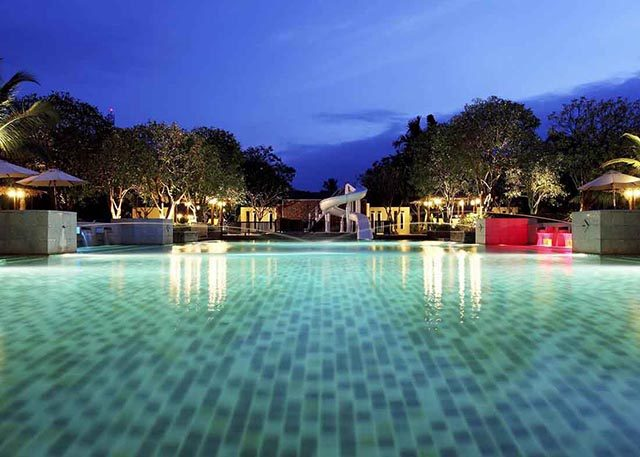 бассейн отеля Centara Koh Chang Tropicana Resort