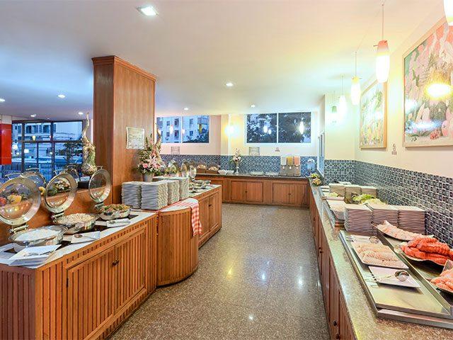 ресторан отеля Baumann Residence