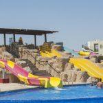 водные горки отеля Sunrise Royal Makadi Aqua Resort