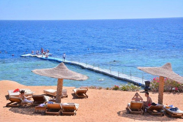 пляж отеля Monte Carlo Sharm Resort & SPA