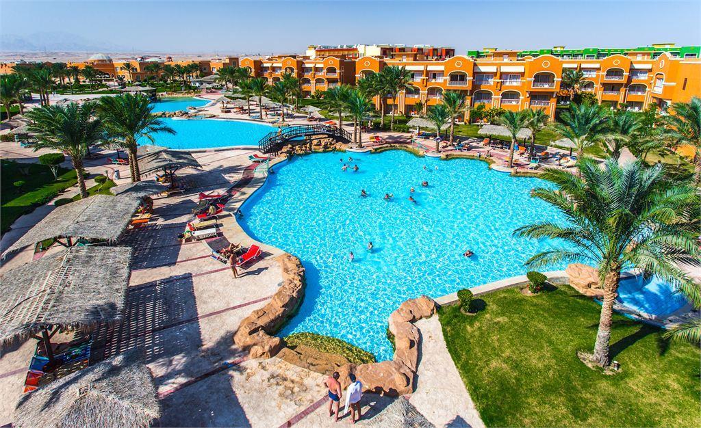 территория отеля Caribbean World Resort Soma Bay