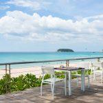 терраса отеля Katathani Phuket Beach Resort