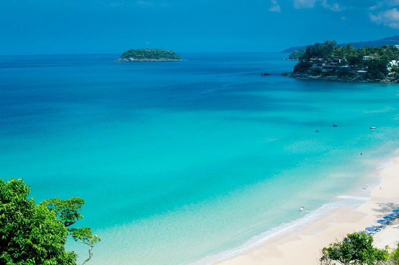 пляж отеля Katathani Phuket Beach Resort