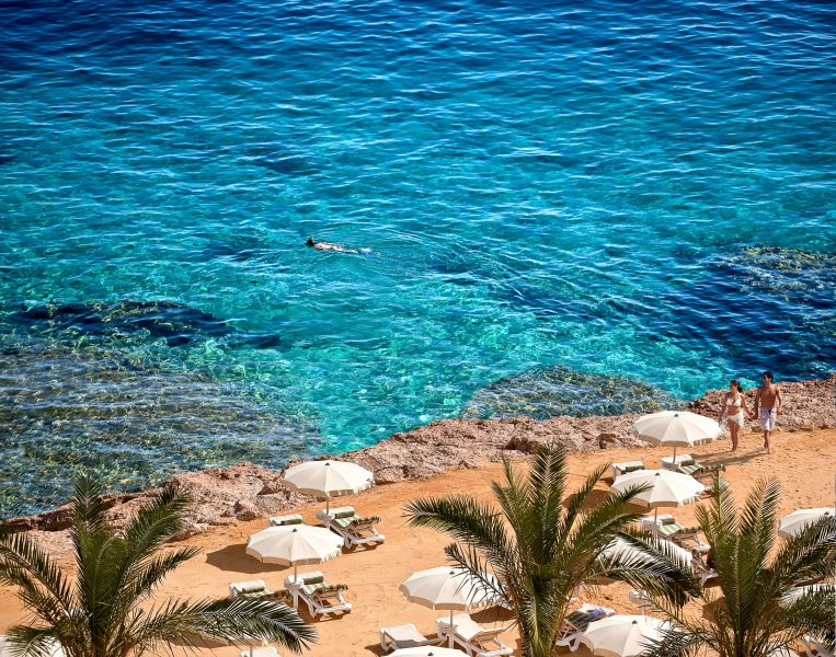 пляж отеля Stella Di Mare Beach Hotel & Spa