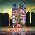 территория отеля Rixos Premium Dubai