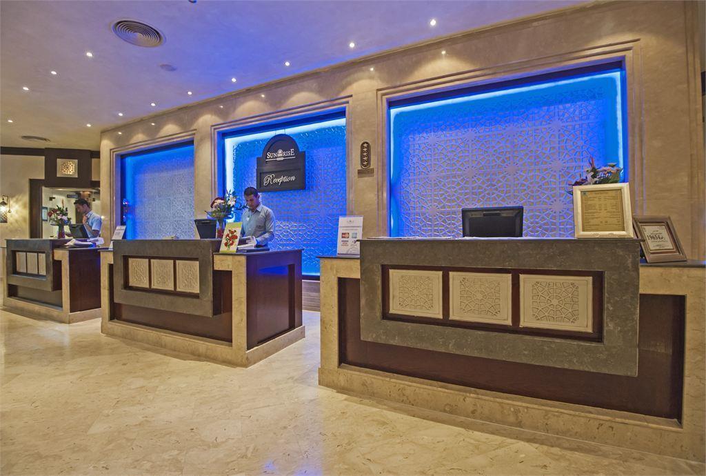 ресепшн отеля Sunrise Select Garden Beach Resort