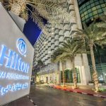 территория отеля Hilton Dubai Jumeirah