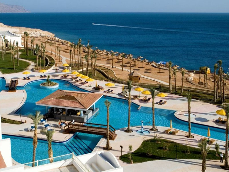 территория отеля Siva Sharm Resort & Spa