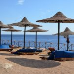 пляж отеля Siva Sharm Resort & Spa