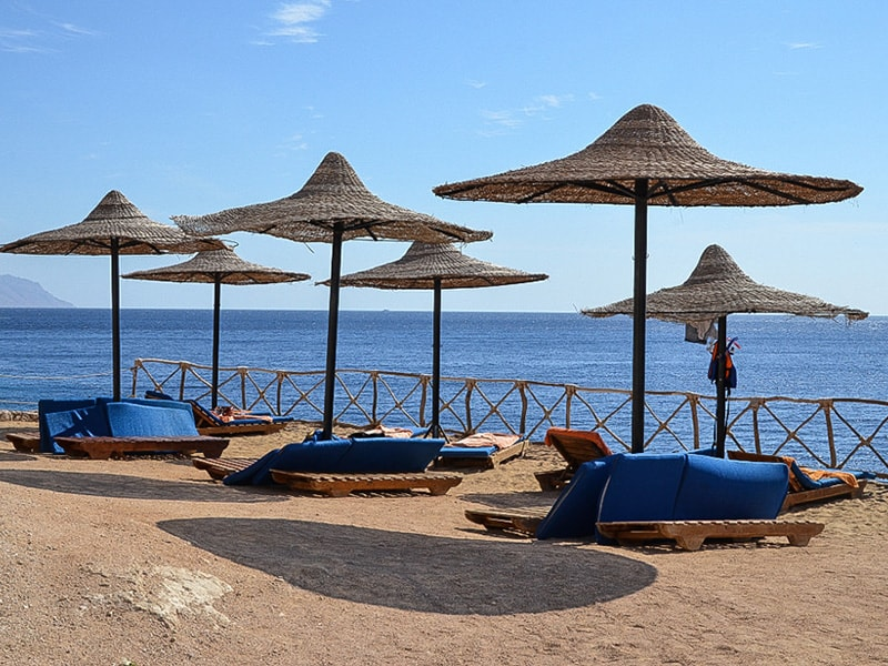 пляж отеля Siva Sharm Resort & Spa