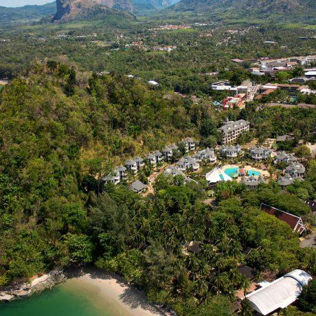 общий вид отеля Krabi Resort