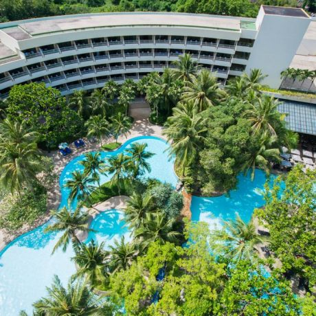 общий вид отеля Hilton Arcadia Phuket