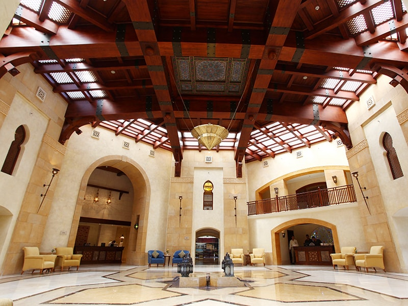 холл отеля The Palace Port Ghalib