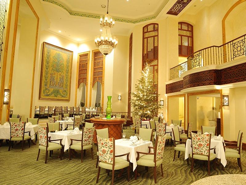 ресторан отеля The Palace Port Ghalib