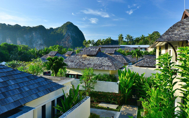 корпус отеля Bhu Nga Thani Resort and Spa