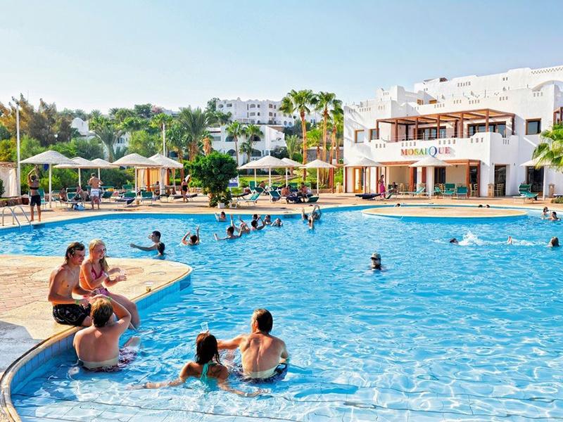 бассейн отеля Domina Coral Bay Oasis Hotel & Resort