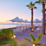ресторан отеля Grecotel Mandola Rosa & Aqua Park