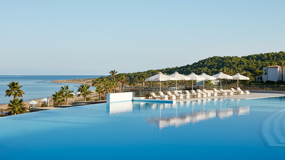 бассейн отеля Grecotel Olympia Riviera & Aqua Park