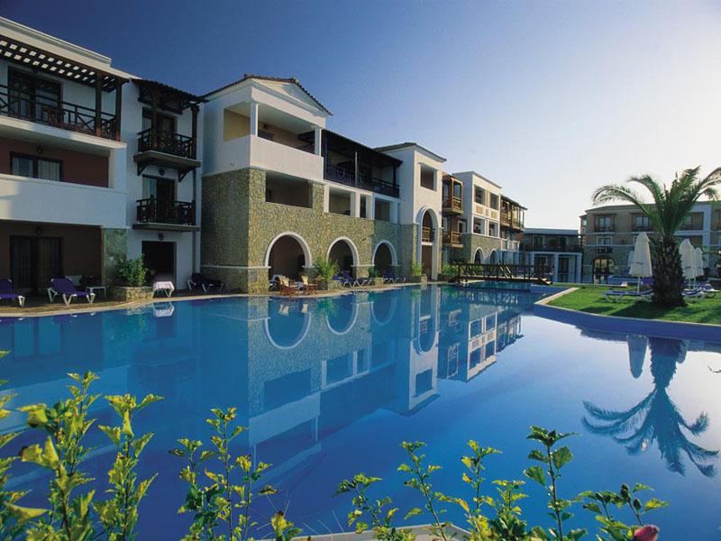 корпус отеля Aldemar Olympian Royal & Village