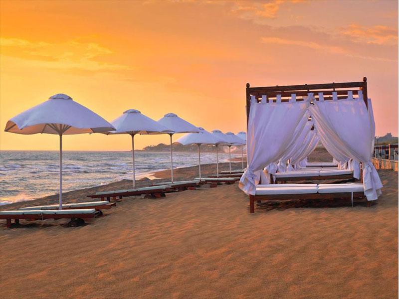 пляж отеля Aldemar Olympian Royal & Village