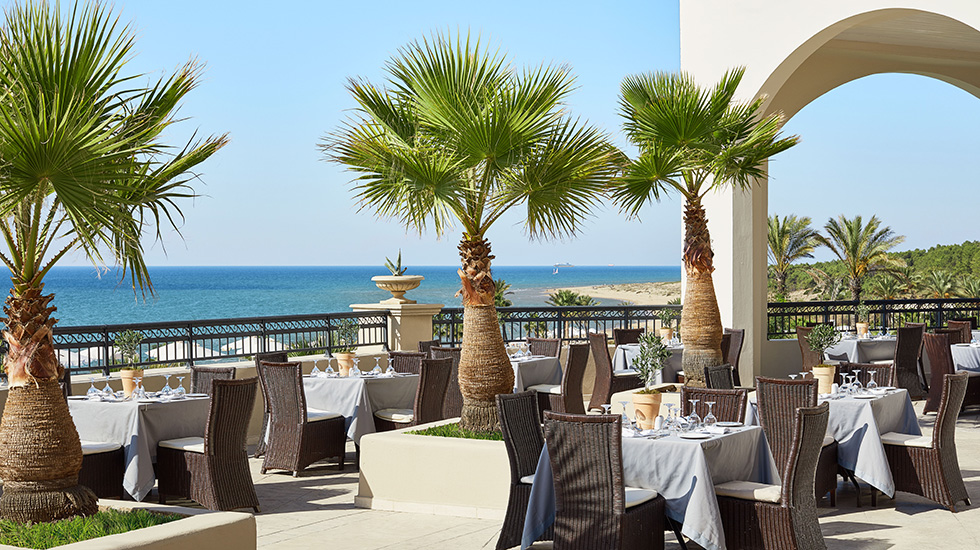 ресторан отеля Grecotel Olympia Riviera & Aqua Park