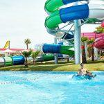 водные горки отеля Grecotel Olympia Riviera & Aqua Park