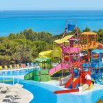 аква парк отеля Grecotel Olympia Riviera & Aqua Park