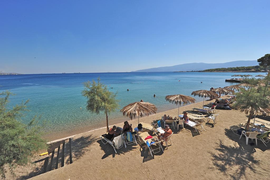 пляж отеля King Saron