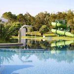 водная горка отеля Robinson Club Kyllini Beach