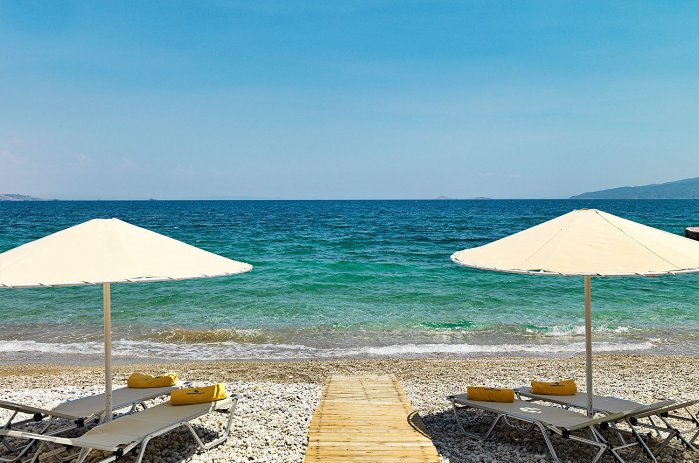 пляж отеля Kalamaki Beach