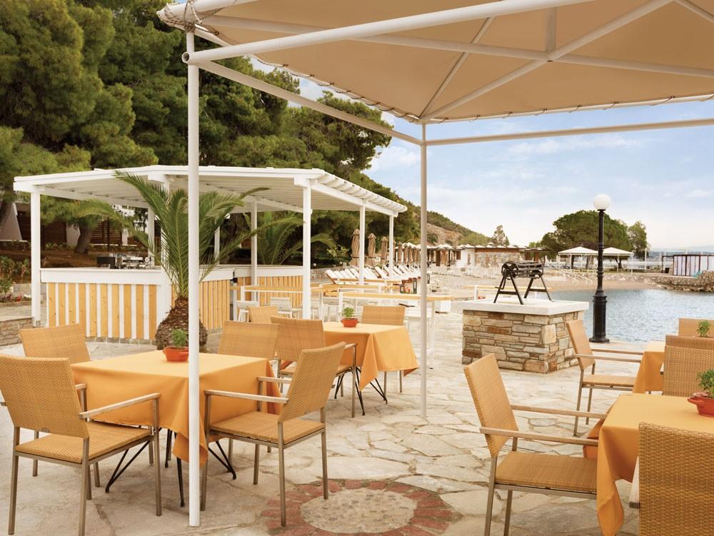 ресторан отеля Wyndham Loutraki Poseidon Resort