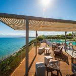 терраса отеля Niforeika Beach Hotel & Bungalows